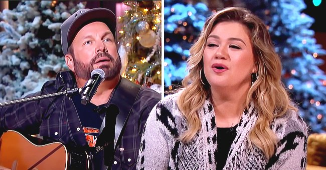 Kelly Clarkson & Garth Brooks Praised for Incredible Duet Singing 'Shallow' — See Fan Reactions