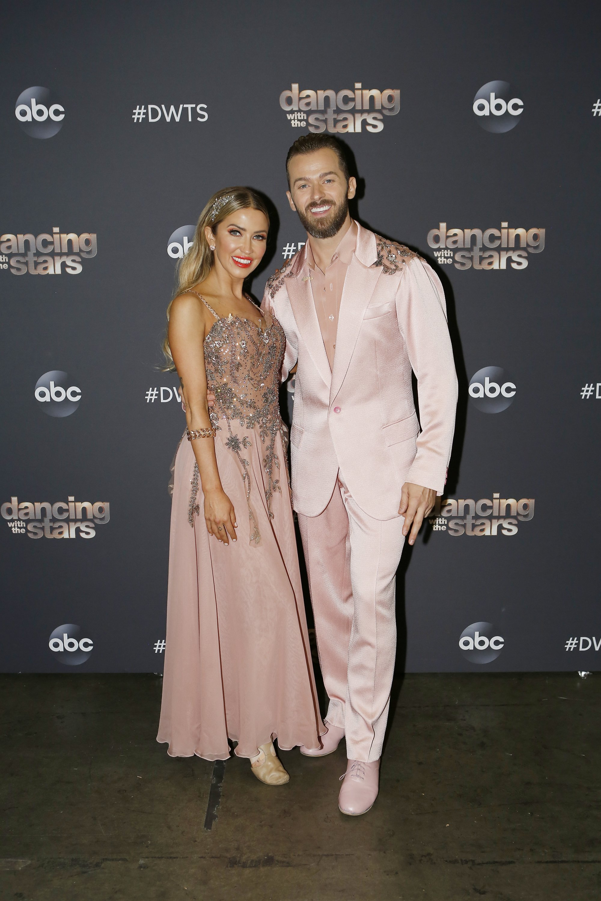 """Kaitlyn Bristowe and Artem Chigvintsev pictured at """"Dancing With The Stars,"""" 2020. 