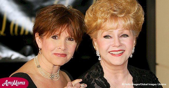 Debbie Reynolds reportedly foresaw Carrie Fisher's death