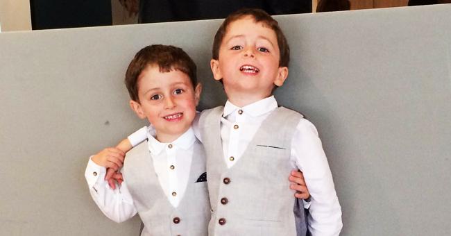 Eltern untröstlich, als bei Sohn der gleiche Hirntumor diagnostiziert wurde wie bei Zwilling