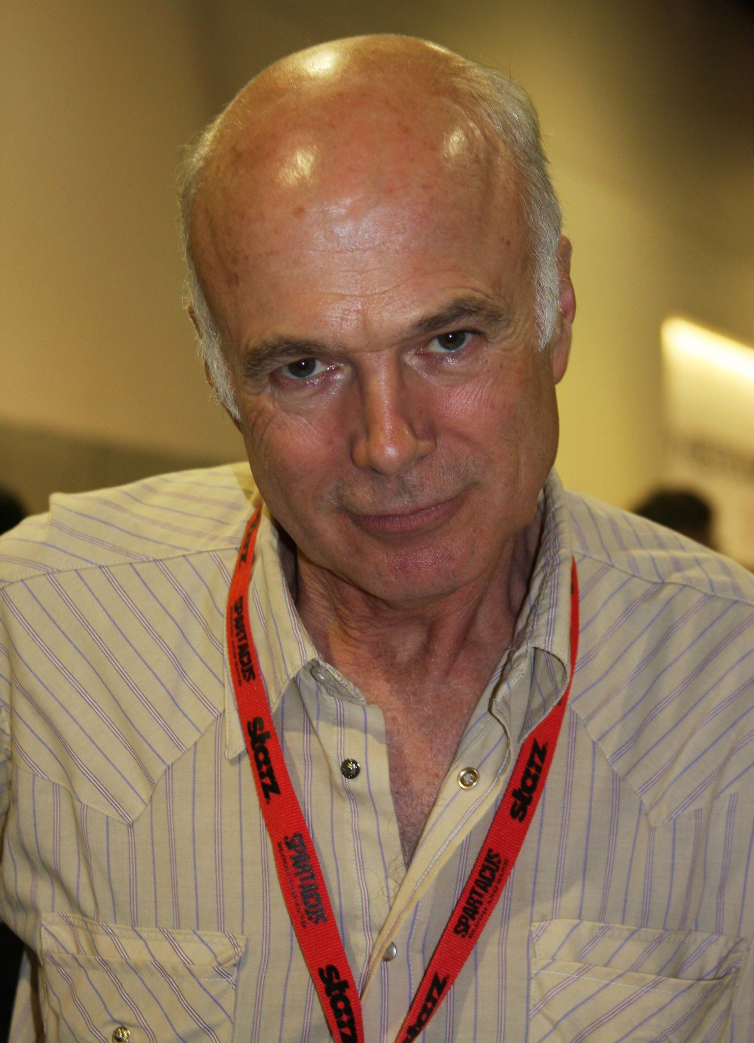 """Michael Hogan who plays ColonelSaul Tigh on """"Battlestar Galactica"""" photographed on July 26, 2009 