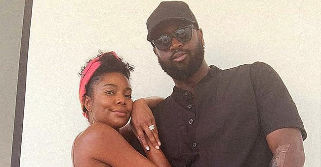 Gabrielle Union and Dwyane Wade Look Happily-In-Love Posing Together in Sweet Couple Pictures