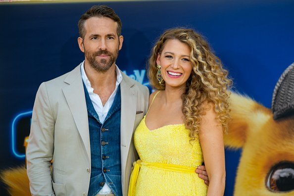 """Blake Lively and Ryan Reynolds attend the """"Pokemon Detective Pikachu"""" U.S. Premiere at Times Square 