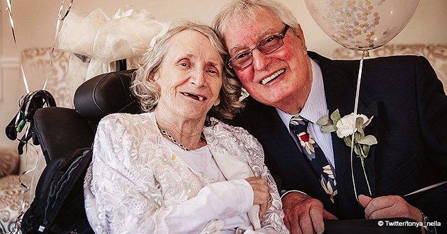 """Pauline, 72 ans, a finalement dit """"oui"""" après 42 demandes de mariage en 42 ans"""