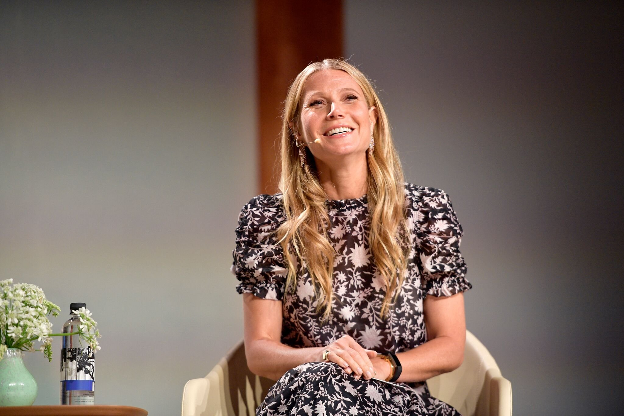 Gwyneth Paltrow speaks onstage at the In goop Health Summit at 3Labs | Getty Images