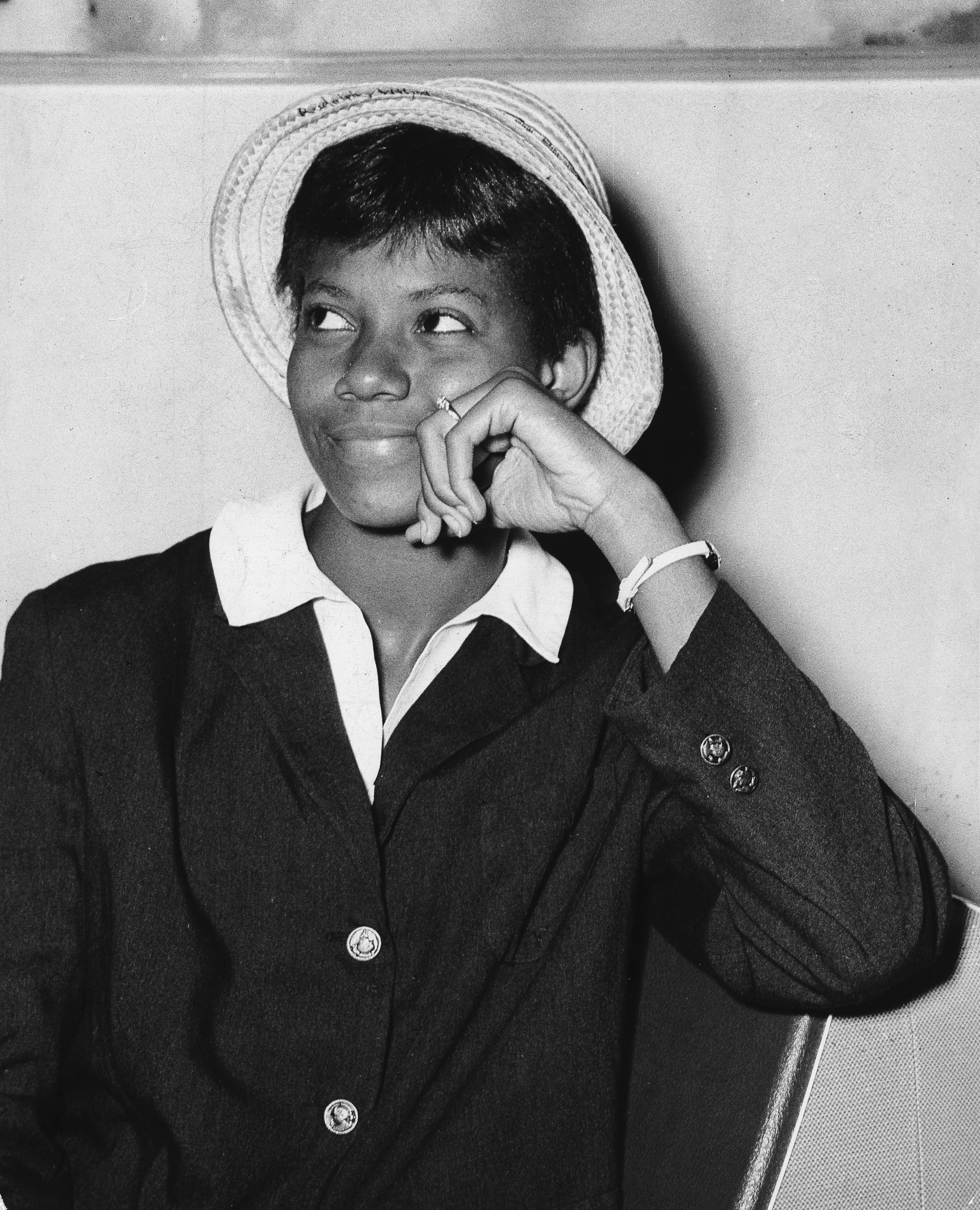 Portrait of Olympic champion Wilma Rudolph during the Summer Olympics in Rome 1960   Photo: Getty Images
