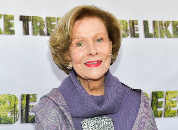 """Nancy Olson attends the Los Angeles Premiere of """"Be Like Trees"""" at Regent Landmark Theater on April 30, 2019 in Los Angeles, California 