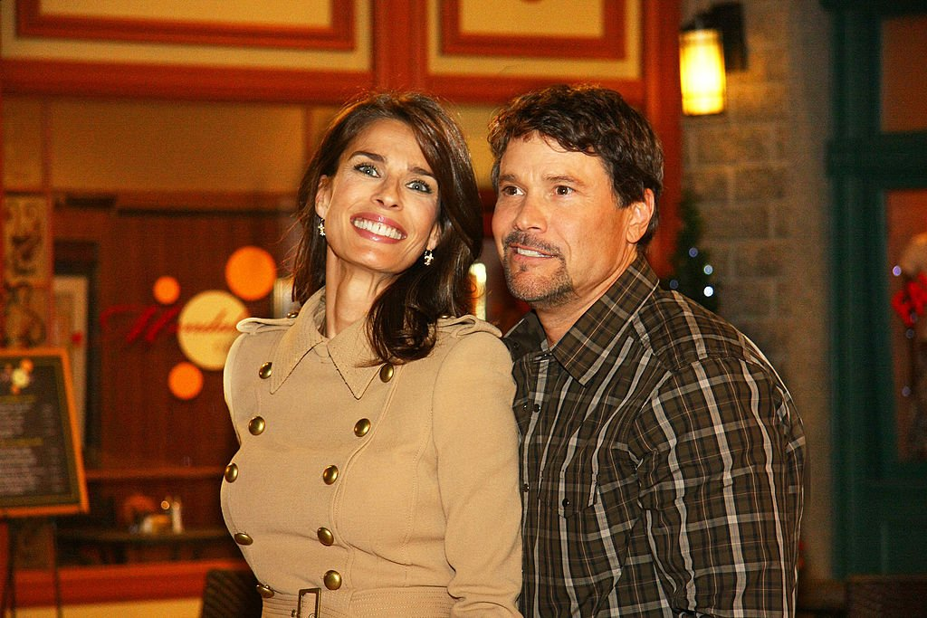 """Kristian Alfonso and Peter Reckell attend """"Days Of Our Lives"""" Press Reception and Junket held at the NBC Studios on August 10, 2011 