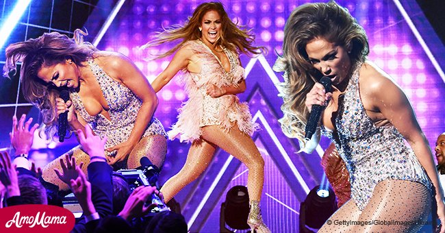 Jennifer Lopez rocks the stage with hottest performance wearing one of her most raciest outfits