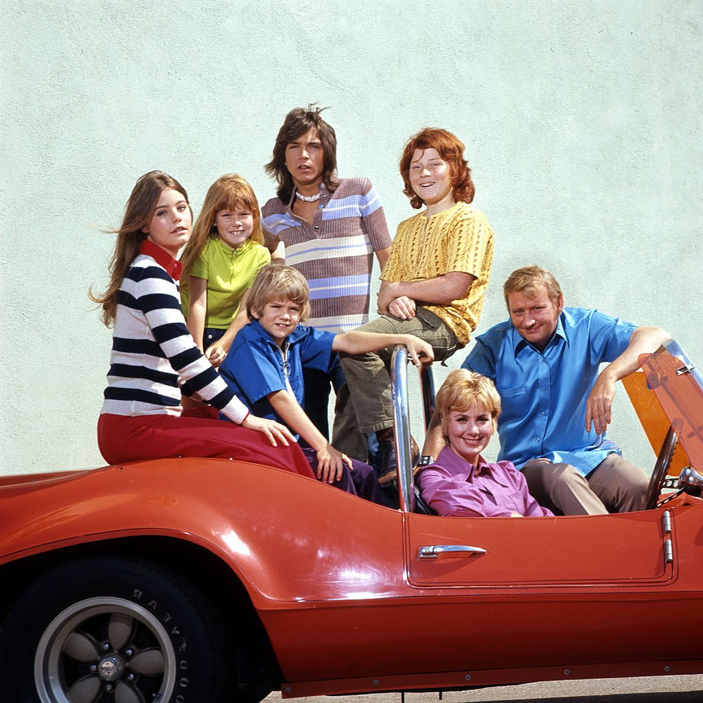 """""""The Partridge Family"""" cast, including Susan Dey and David Cassidy, in May 1972   Photo: Getty Images"""