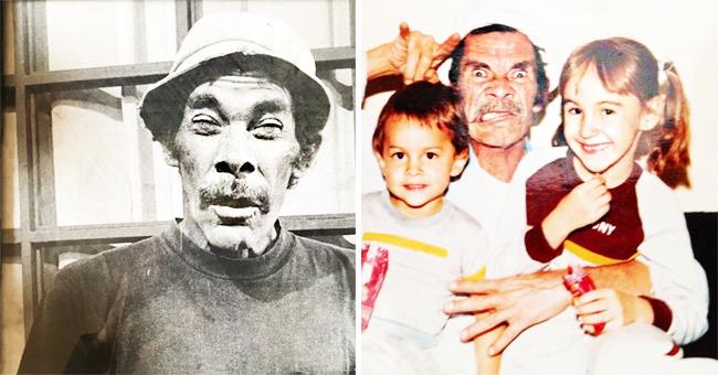 Internet se emociona al ver foto inédita de Don Ramón publicada por su nieto