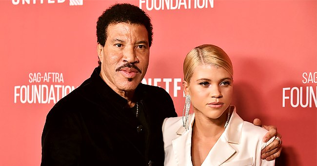 Lionel Richie's Daughter Sofia Makes Hearts Race Posing in a Black Bikini While Holding a Book