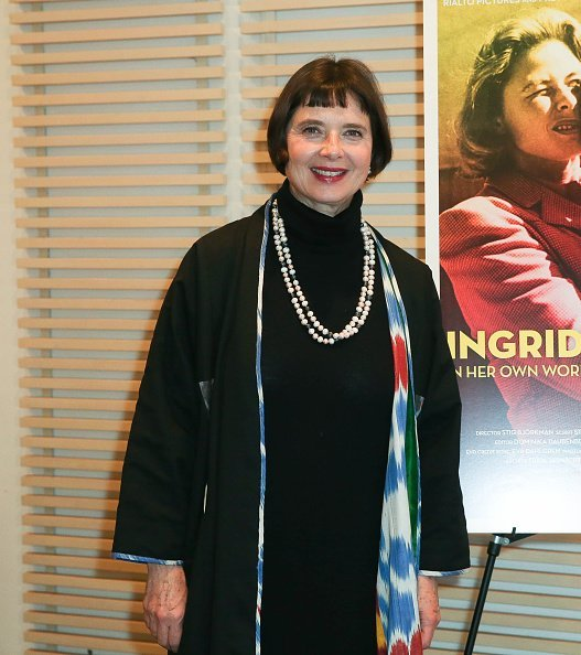 Isabella Rossellini at Scandinavia House on November 10, 2015 in New York City | Photo: Getty Images