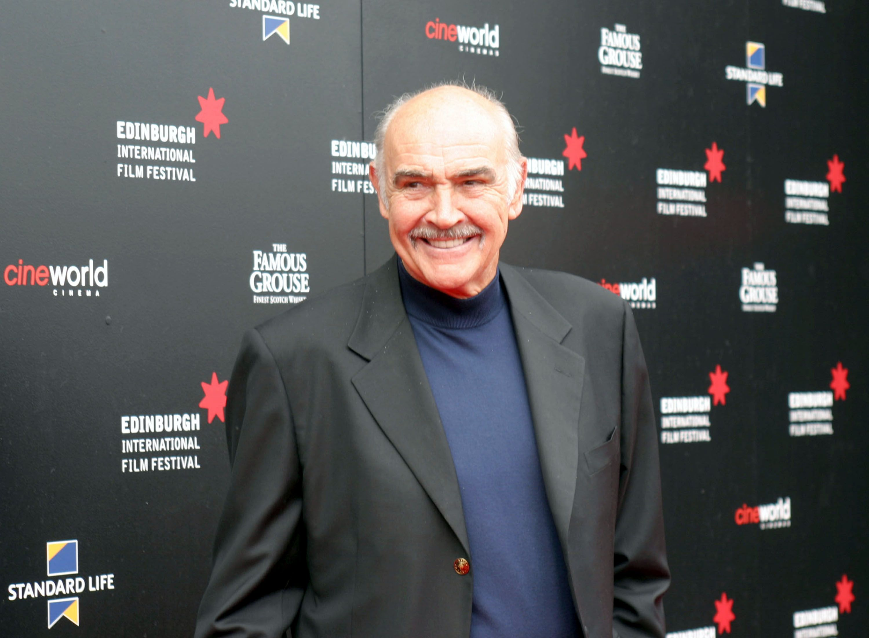 Sir Sean Connery at the Edinburgh International Film Festival at Cineworld on August 25, 2006 | Photo: Getty Images