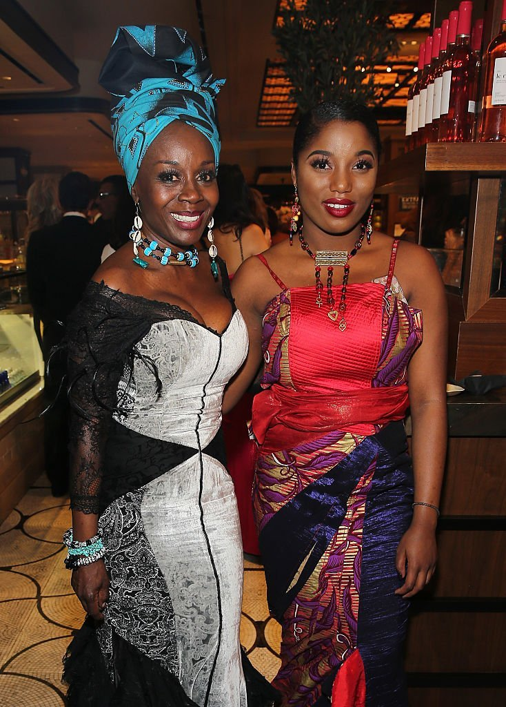 Hadar Busia Singleton (L) and actress Akosua Busia attend the after party for the 2016 Tony Awards Gala presented by Porsche at the Plaza Hotel | Photo: Getty Images