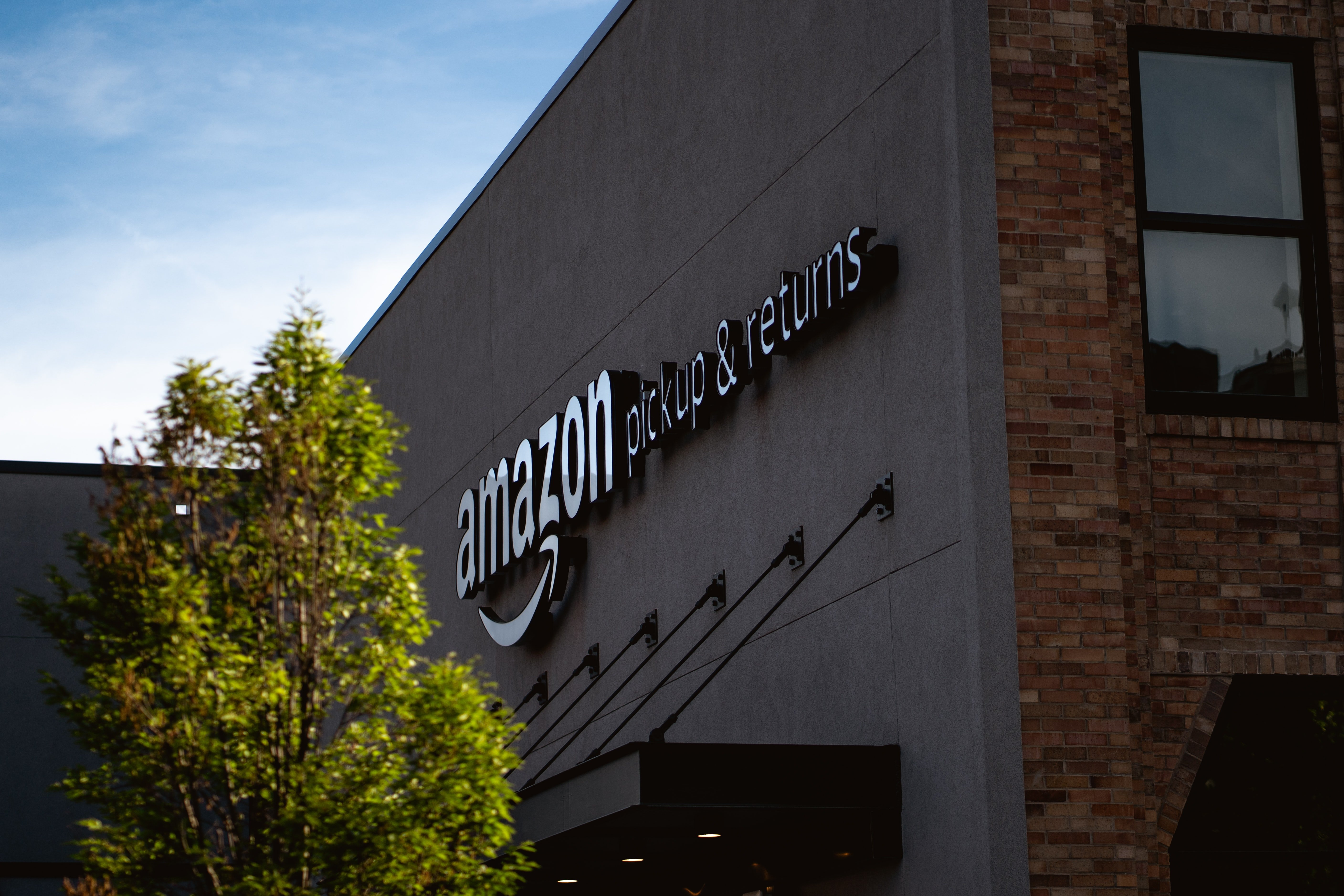 One of the Amazon buildings that houses their pickups and returns   Photo: Unsplash/Bryan Angelo