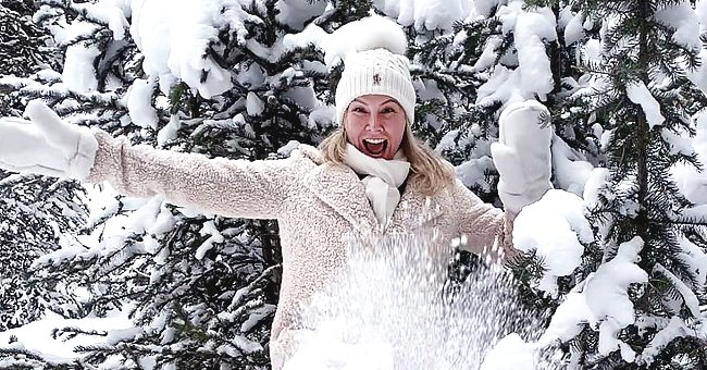 Fans React to Kym Herjavec's Photo Playing in the Snow – Here's What They Had to Say