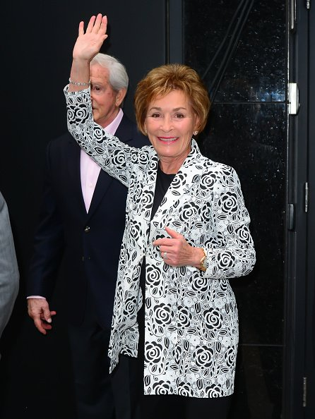 Judy Sheindlin is seen at 'Good Morning America | Photo: Getty Images