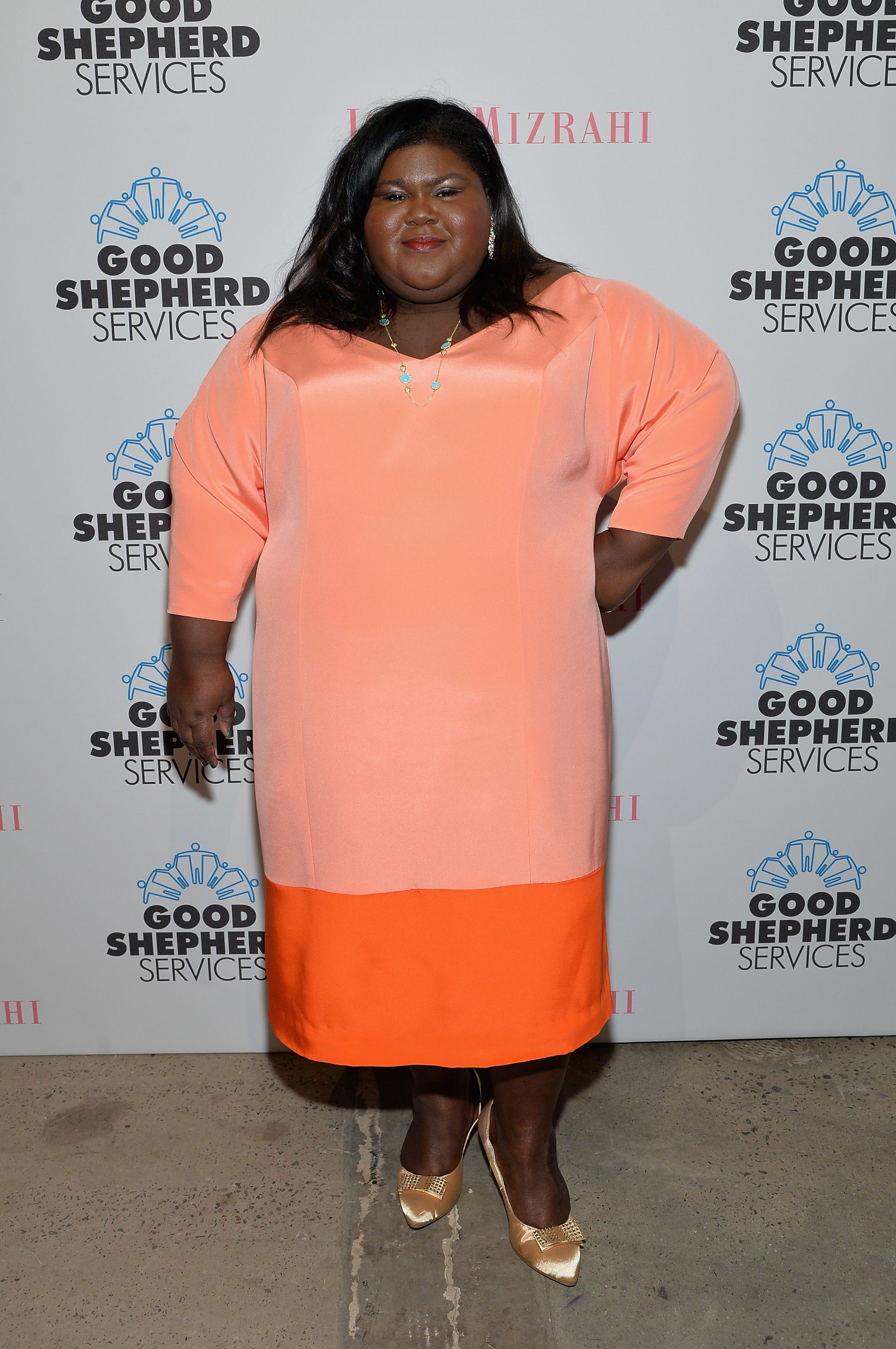 Gabourey Sidibe during the Good Shepherd Services Spring Party in New York City on April 24, 2014. | Source: Getty Images