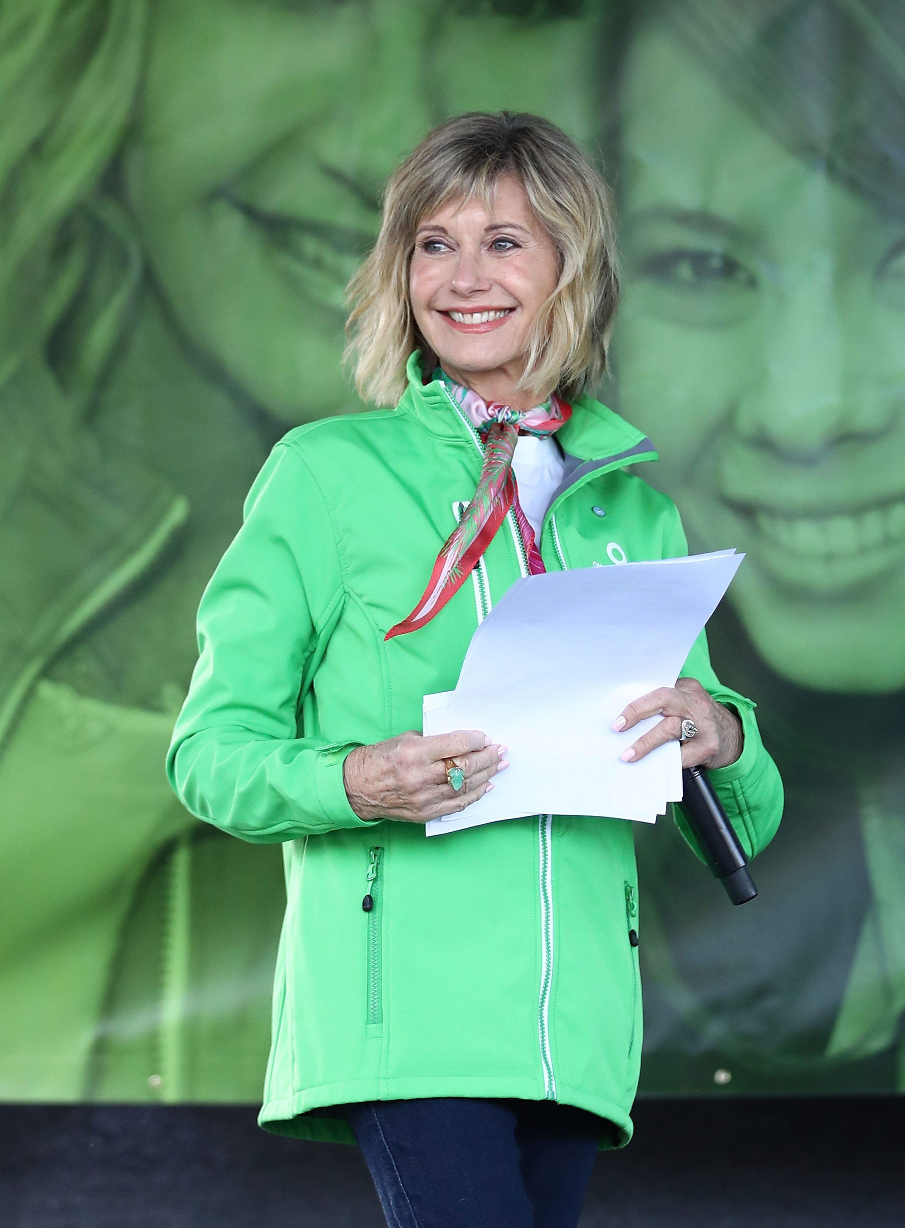 Olivia Newton-John at the Annual Wellness Walk and Research Run. | Source: Getty Images
