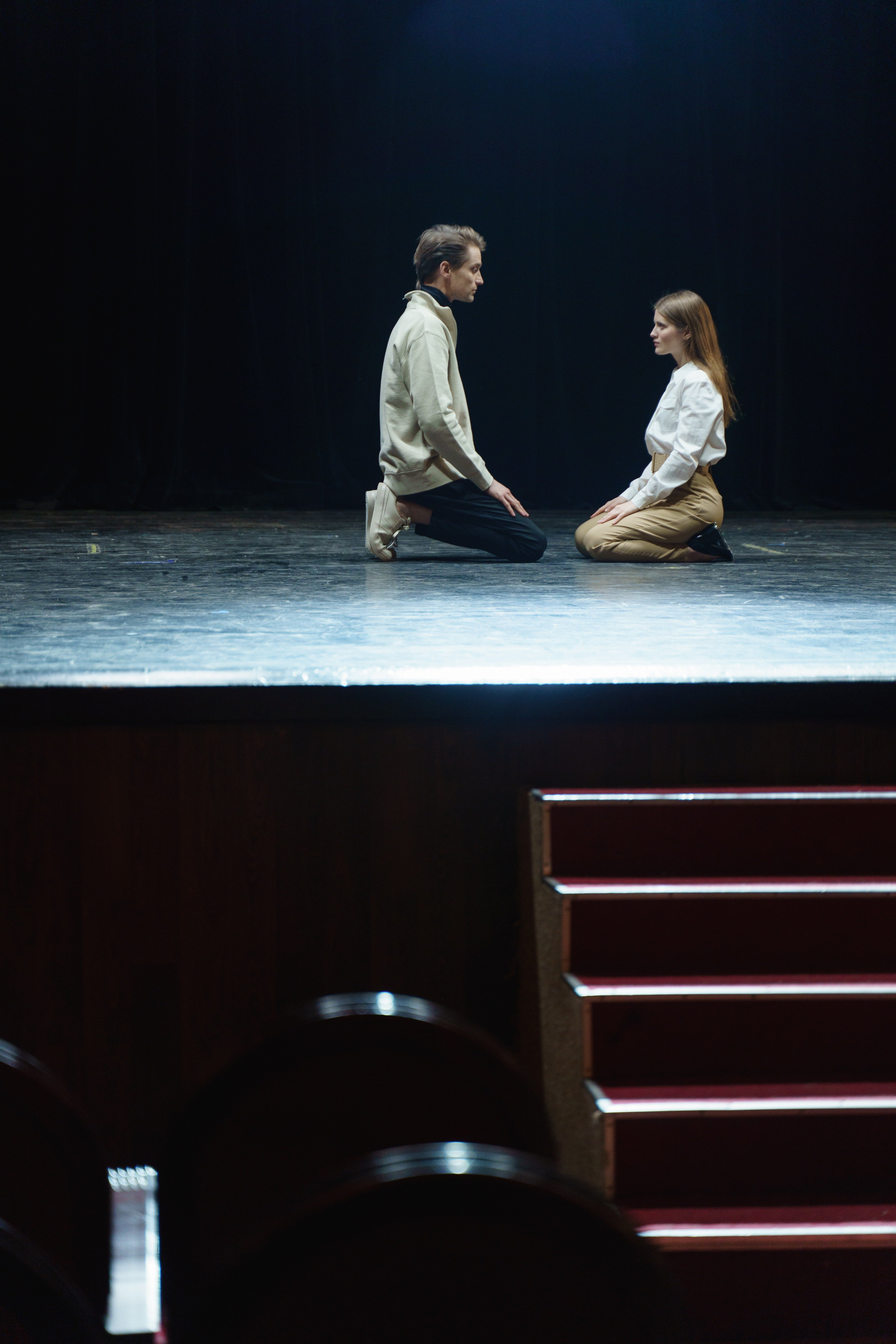 Our own Broadway play—not really a great idea in hindsight | Source: Pexels