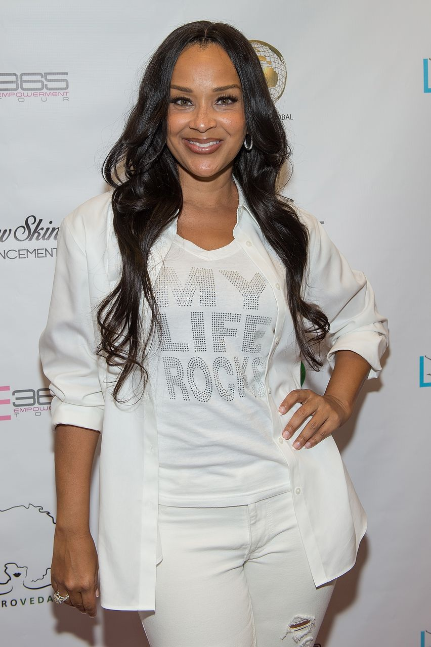 Lisa Raye McCoy at the LIVE 365 Empowerment Tour in Atlanta in June 2016.   Photo: Getty Images/GlobalImagesUkraine