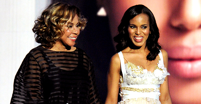 Diahann Carroll's Daughter Thanks Tyler Perry & Says Kerry Washington Reminds Her of Mom