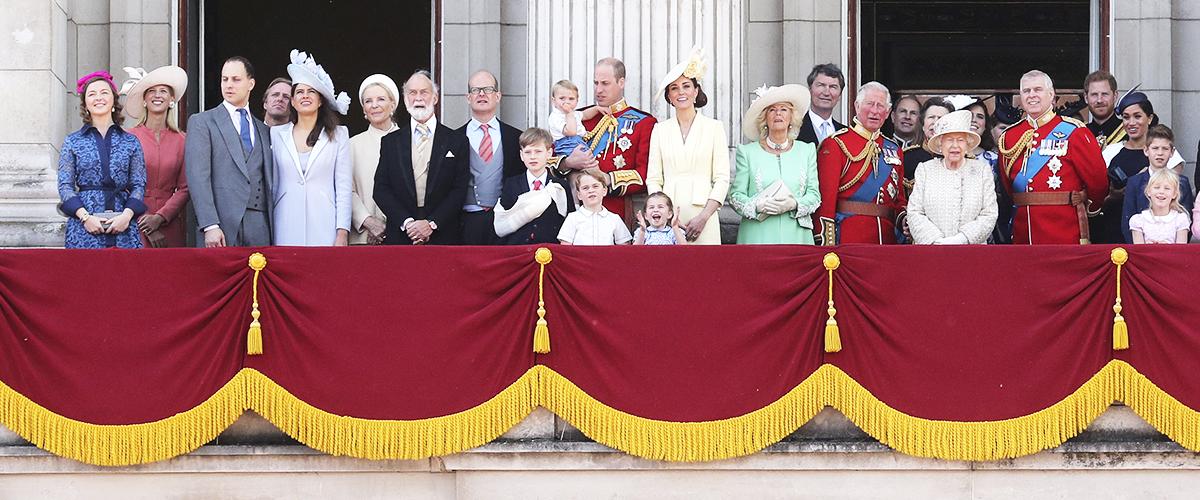 Les 93 bougies de la reine Elizabeth fêtées , la famille royale au complet