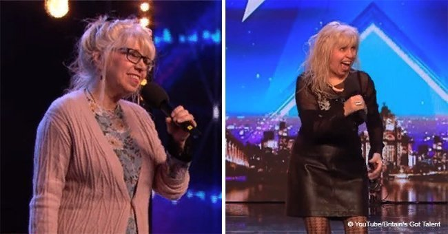 Grandmother stole the show on 'Britain's Got Talent' with her rockstar performance
