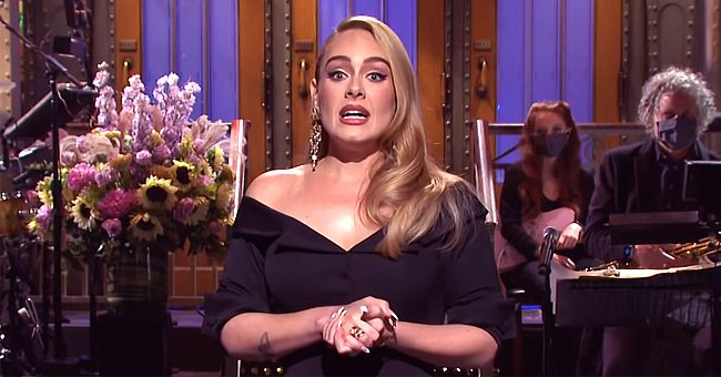 A picture of multiple award-winning artist Adele at the Saturday Night Live | Photo:  Youtube.com/Saturday Night Live