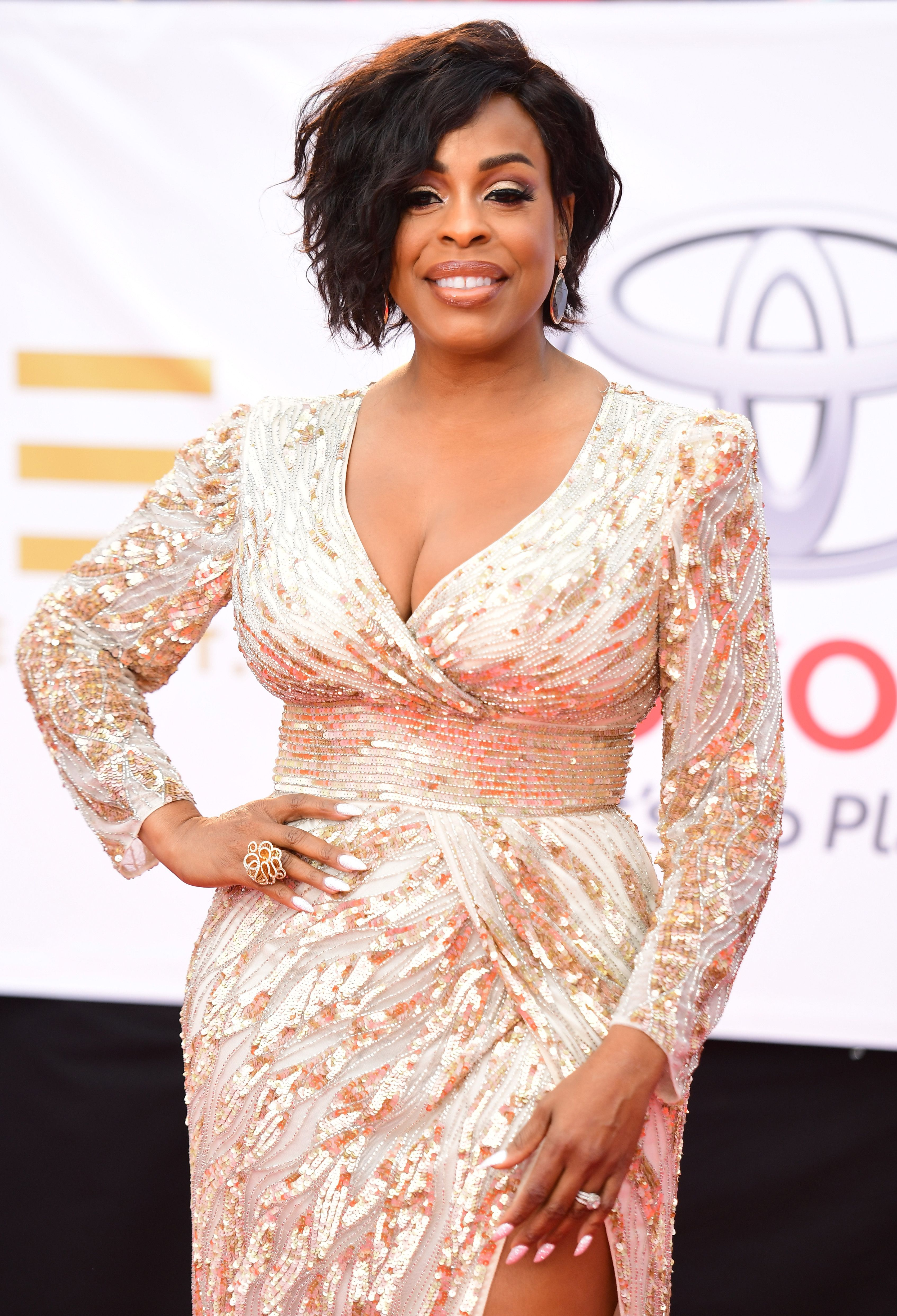 Niecy Nash at the 49th NAACP Image Awards at Pasadena Civic Auditorium on January 15, 2018 in California | Photo: Getty Images