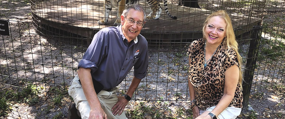 Carole Baskin and Howard Run a Wildlife Sanctuary — Inside the 'Tiger King' Couple's Love Story