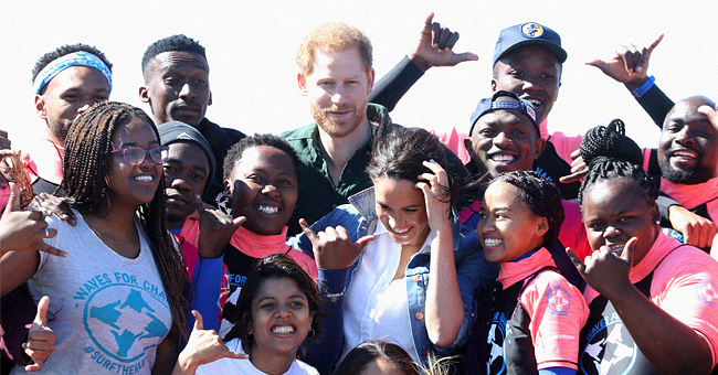 Royal Tour: Meghan Markle Talks to South Africa Locals, Says Archie Keeps Her & Prince Harry Busy