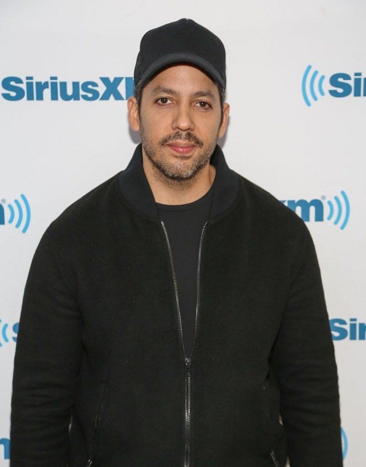 David Blaine visiting the SiriusXM studio in New York City, in April 2018. | Image: Getty Images.