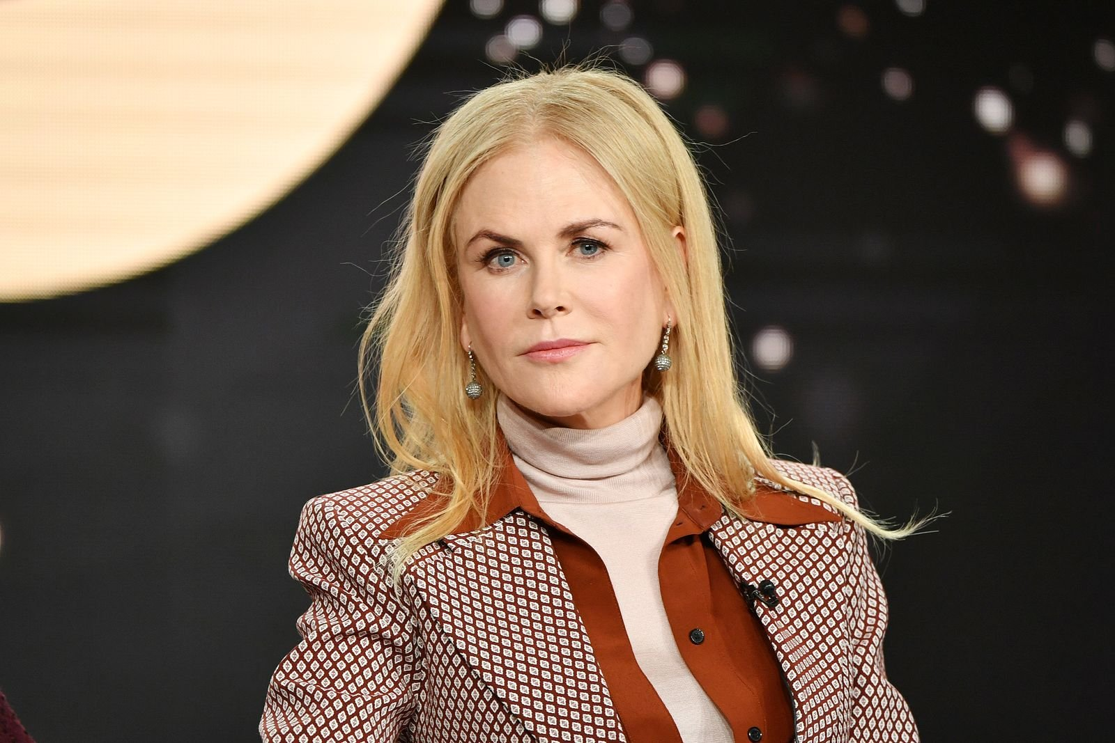 Nicole Kidman at the HBO segment of the 2020 Winter TCA Press Tour at The Langham Huntington, Pasadena on January 15, 2020 | Getty Images