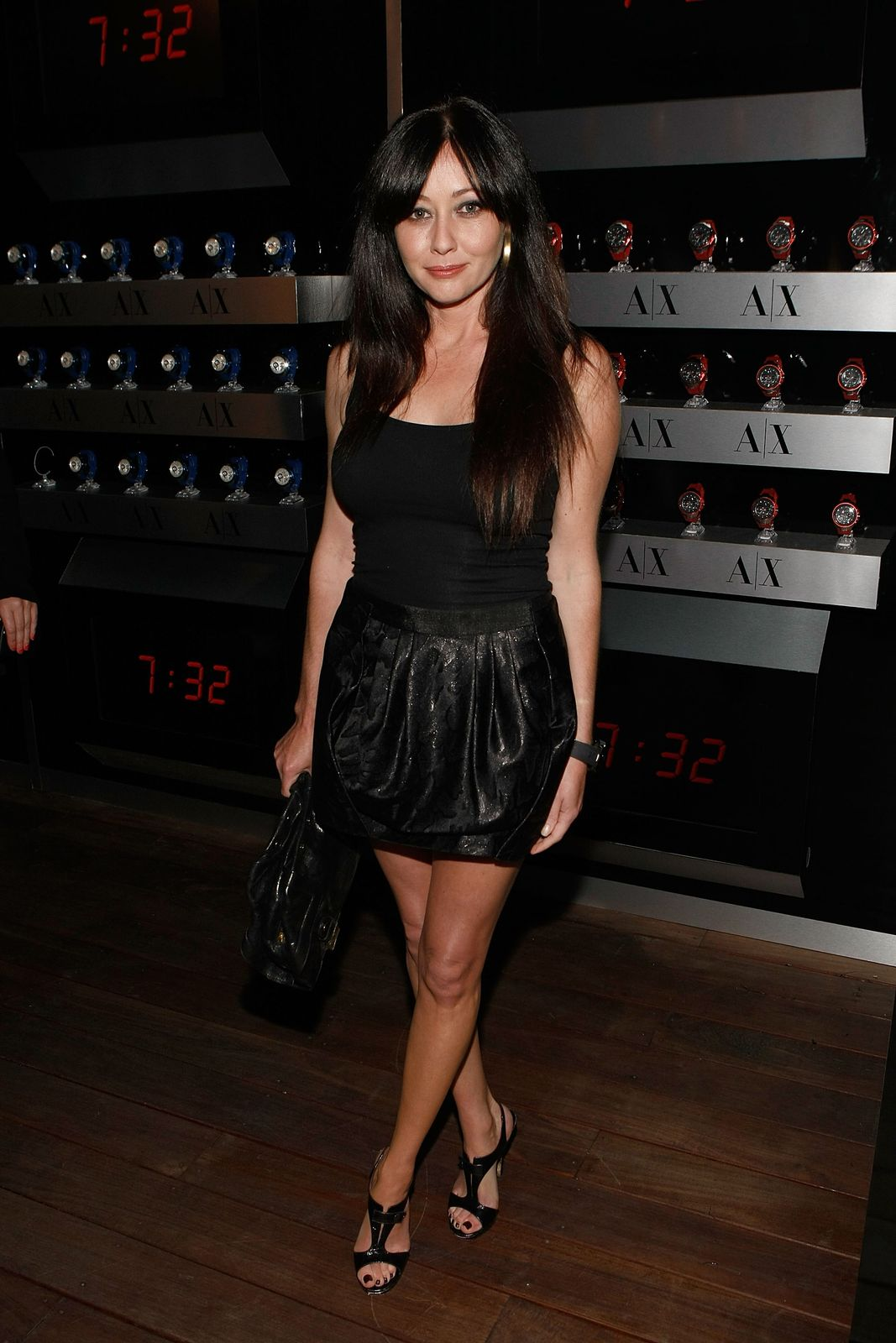 Shannen Doherty at the launch of A/X Watches at the SLS Hotel on April 15, 2009 in Los Angeles, California | Photo: Michael Buckner/Getty Images