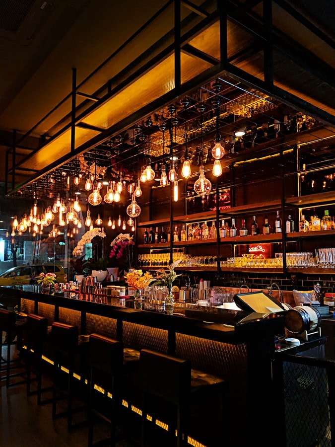 A friend invited me to an exclusive bar   Source: Unsplash