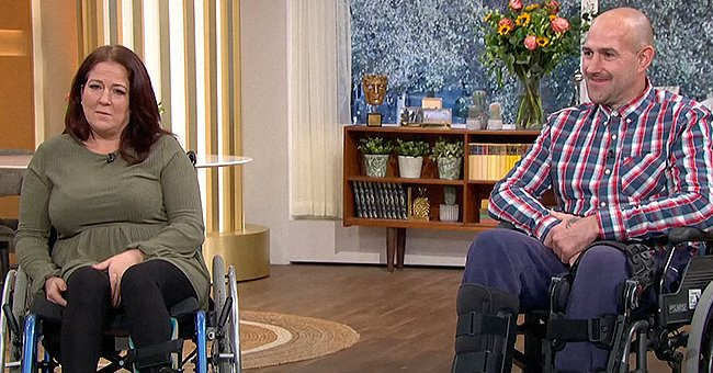 """Claire Vickers and Barry Douglas shared the story of their horrible accident with """"This Morning."""" 