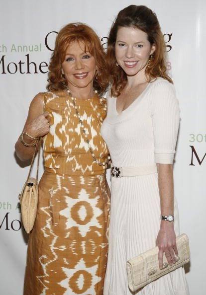 """Joy Philbin (L) and Joanna Philbin (R) attend the 30th Annual """"Outstanding Mother Awards"""" at The Pierre New York Hotel on May 8, 2008, in New York City. 