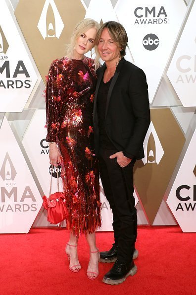 Nicole Kidman and Keith Urban attend the 53nd annual CMA Awards at Bridgestone Arena in Nashville, Tennessee. | Photo: Getty Images
