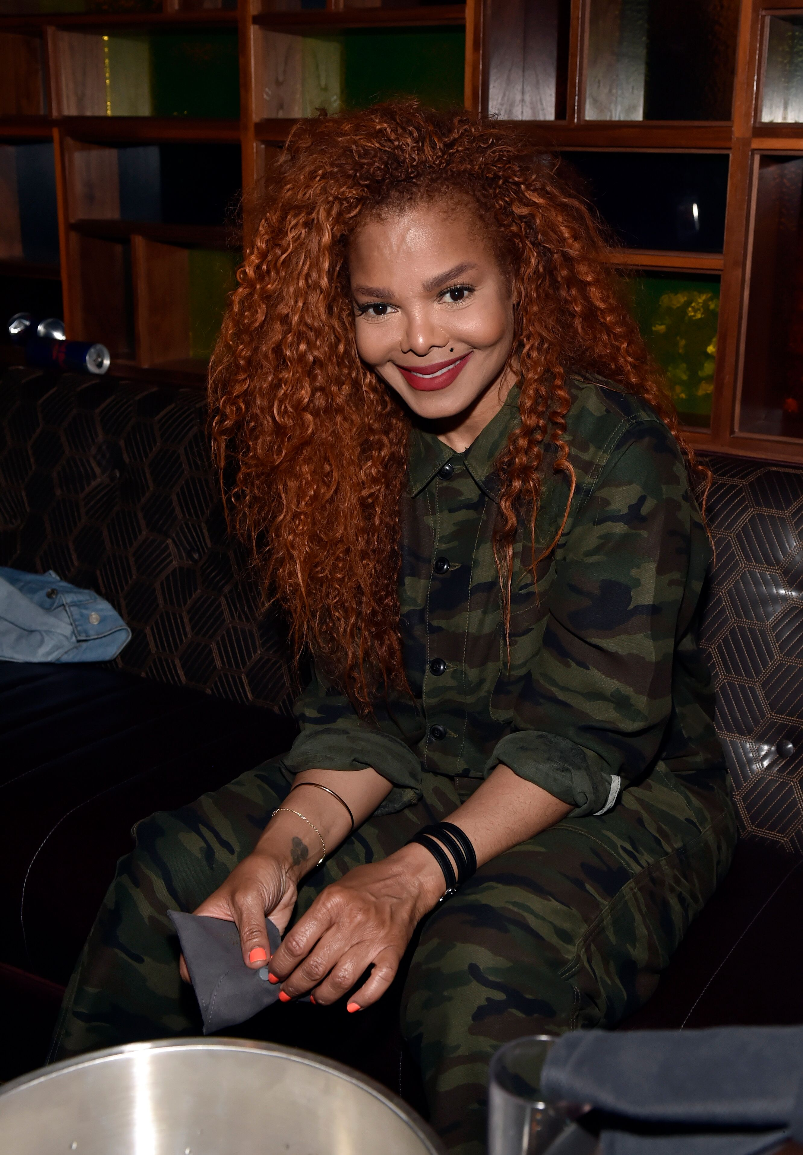 Janet Jackson at Park MGM Las Vegas for her residency | Source: Getty Images/GlobalImagesUkraine