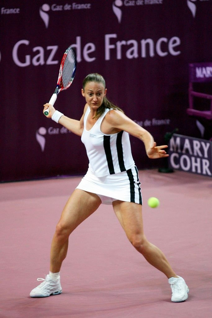 Mary Pierce, Open Gaz de France 2006 | source : Getty Images