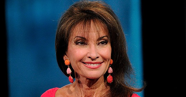 Susan Lucci of 'All My Children' Fame Shows off Her Trim Figure in White Strapless Swimsuit After Giving Health Update