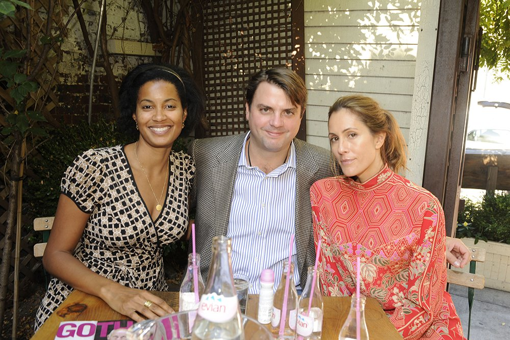 Eden Williams, Todd Goergen, and Christina Cuomo attending GOTHAM Host Culinary Chef Tasting at 5Ninth in New York City in October 2008. I Image: Getty Images.