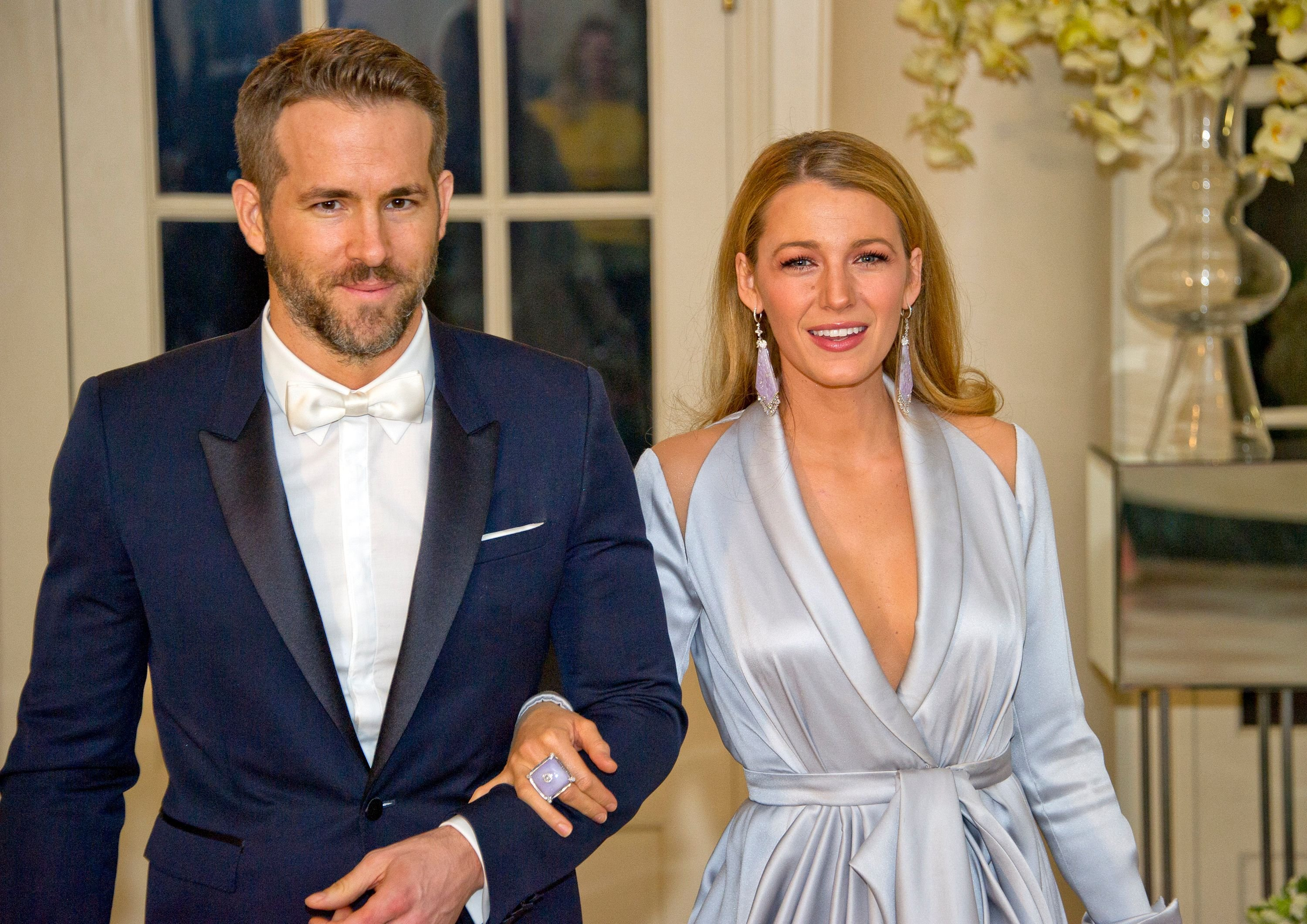Ryan Reynolds and Blake Lively at the State Dinner in honor of Prime Minister Trudeau at the White House March in 2016 | Source: Getty Images