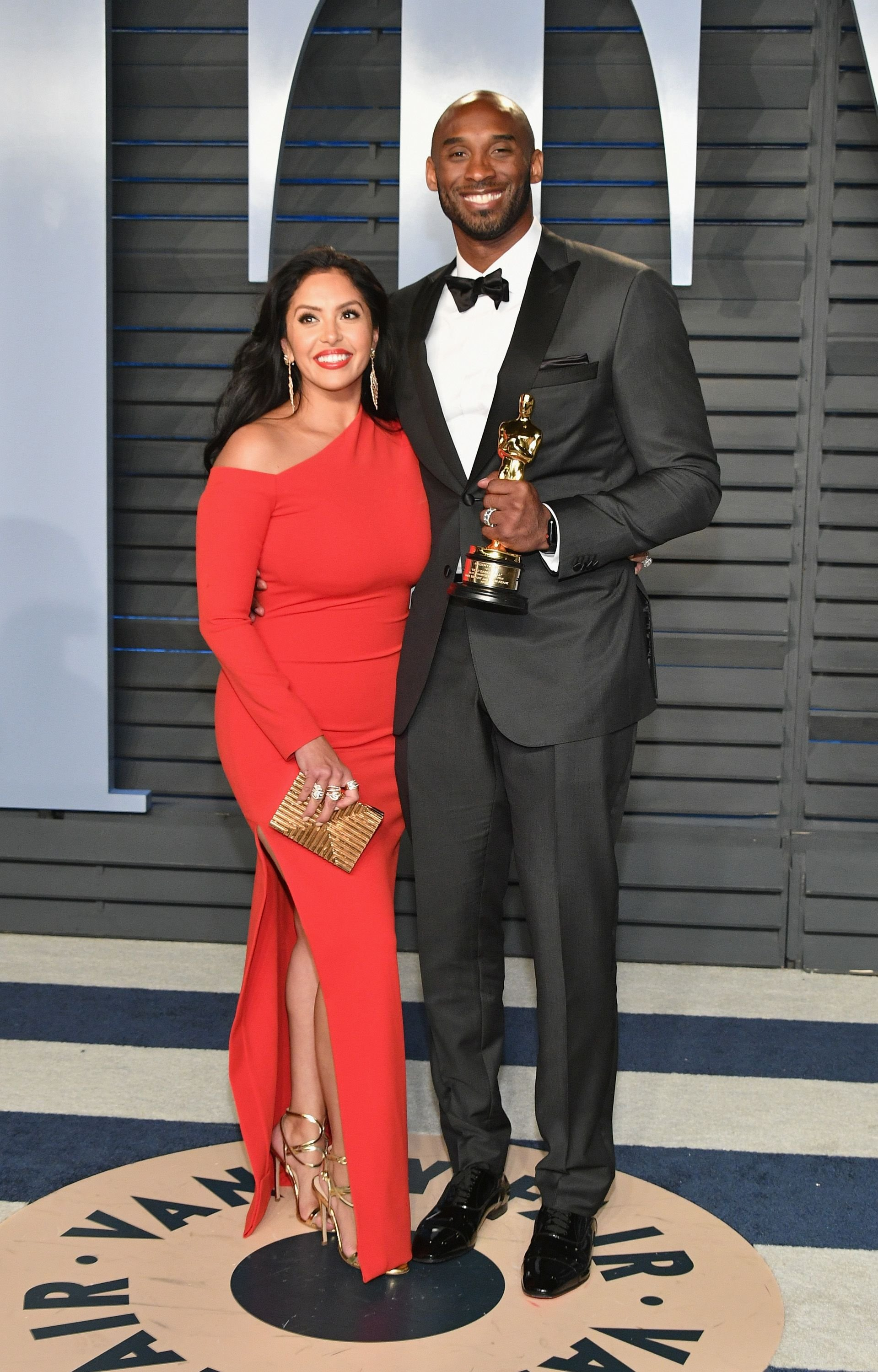 Vanessa Bryant and Kobe Bryant at the 2018 Vanity Fair Oscar Party at Wallis Annenberg Center for the Performing Arts on March 4, 2018 | Photo: Getty Images