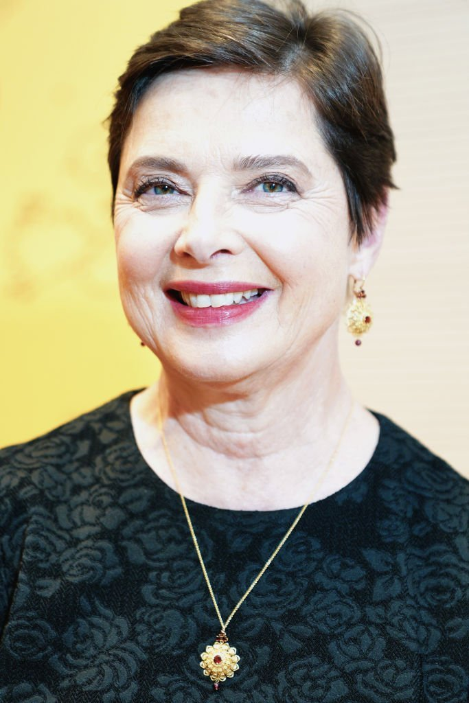 "Isabella Rossellini attends the presentation of her book ""My Chickens and I (Le Mie Galline E Io)""  