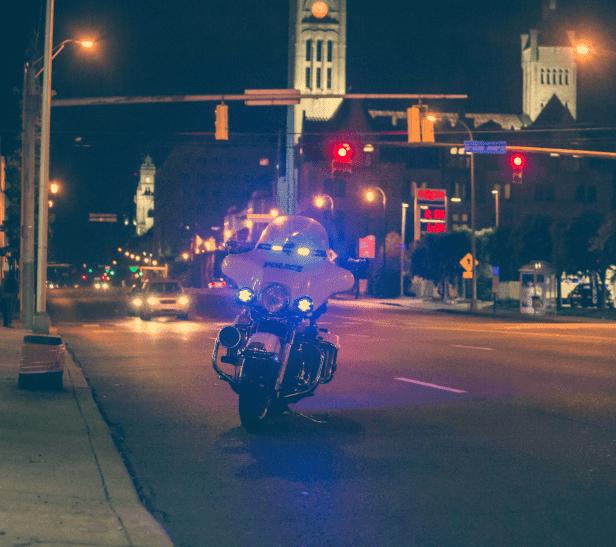 Moto de police | Source : Unsplash