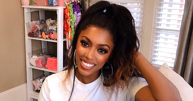 Porsha Williams of RHOA Flaunts Curves in Animal Print Swimsuit Nearly 10 Months after Giving Birth to Daughter Pilar