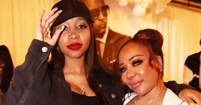Tiny Harris Posed with Pregnant Daughter Zonnique Pullins, Who Showed off Her Growing Baby Bump